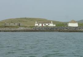 Berneray Hostel from the Sea