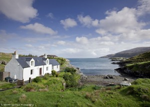 Rhenigidale House and Beach