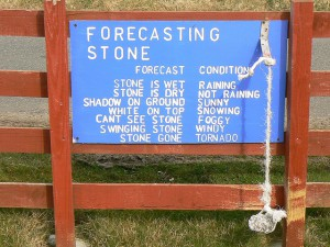 The Forecasting Stone on Berneray