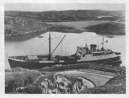 In busier times at Loch Skipport