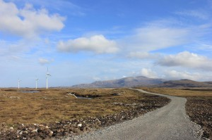 Big Skies, Wide Landscapes and Large Turbines of South Uist