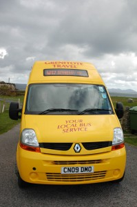 W17 Bus Service to Berneray