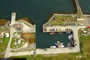 Berneray Harbour by James Smith
