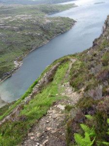 The Rhenigidale Zig-zag Path