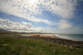 Sky, Sea and Machair on the west side of South Uist
