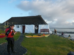 Kayaks at Berneray