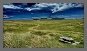 The Machair on Berneray
