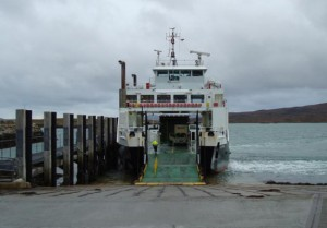 MV Loch Portain at Berneray