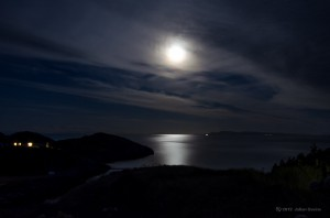 Moon Over The Minch