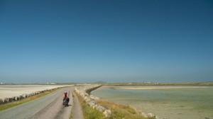 Bicycle on Berneray Causeway