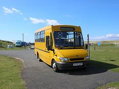 A School Bus on Harris