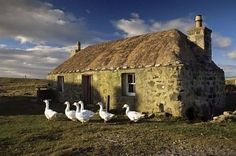 Old Building, South Uist
