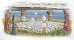 Pictish Square Cairn
