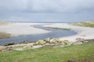 Where the River Howmore meets the Sea