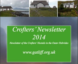 Crofters Newsletter 2014 cover