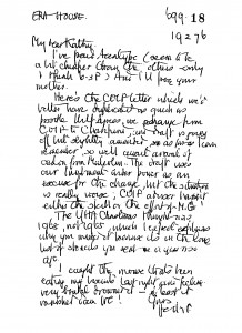 Gatliff Handwriting