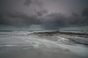 January Storm, South Uist. Photograph of Shona Grant.